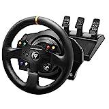 Thrustmaster TX Racing Wheel Leather Edition - Force-Feedback-Rennsimulator für Xbox One und PC - Funktioniert mit Xbox Series X|S
