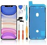 LL TRADER Display Reparaturset Kompatibel mit iPhone X 5.8' LCD Touch Digitizer-Ersatz und Werkzeuge (Schwarz)
