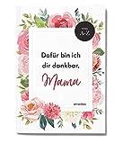 Geschenk für die beste Mama zum Muttertag, Heft zum selbst Ausfüllen + Gestalten, Danke-Mama, dafür bin ich dir dankbar, Tochter Geschenk, Mutter-Kind-Geschenkidee, A6