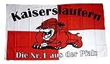 Fahne / Flagge Kaiserslautern Bulldogge Fan 90 x 150