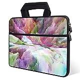 iKammo Laptop-Tragetasche aus Neopren, für Lenovo Yoga C630 C730 15,6 Zoll / HP Spectre X360 / HP Envy x360 / HP Pavilion 15,6 Zoll / Acer Aspire 5 A515 (Color Clouds)