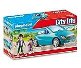 PLAYMOBIL 70285 City Life Papa und Kind mit Cabrio, b