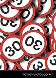 Notizen und Gedanken: Kleines Führerscheinverlust MPU Zone 30 Notizbuch   Tagebuch A6, kariert. Nachhaltig & k