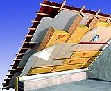 Dämmung Dachdämmung Hausdämmung Dämmpaket für ca. 120 m² Dachausbau - Klemmfilz WLG 035 in 180