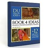 BOOK 4 IDEAS classic | Muh, Mäh, Miau & Co, Eintragbuch mit B