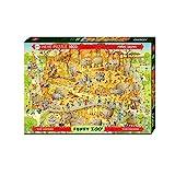 Heye FBA_HY29639 African Habitat, Funky Zoo, Degano Puzzle, Brow