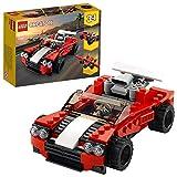Lego 31100 Creator 3-in-1 Sportwagen, Hot Rod oder Flieger, Spielzeuge für Jungen und Mädchen ab 7 J