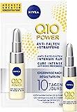 NIVEA Q10 Power Anti Tiefe Falten + Straffung 10 Tage Intensiv Kur für jünger aussehende Haut, pflegende Anti-Falten Kur, (6.5 ml)