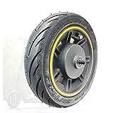 SUIBIAN Elektroroller-Rad-Zubehör, kompatibel mit NINEBOT MAX G30 Scooter-Vorderrad, Original-Vorderradanordnung, Anti-Skid-Reifen + R
