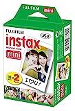 Fujifilm Instax Mini Film (40 Aufnahmen) Multipack weiß