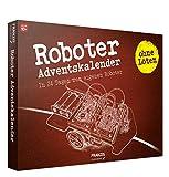 FRANZIS Roboter-Adventskalender 2020 | In 24 Schritten zum eigenen Roboter | ganz ohne Löten | Ab 10 J