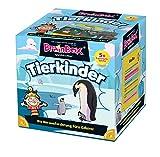 Brain Box 2094904 Tierkinder, Lernspiel, Quizspiel für Kinder ab 5 J