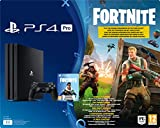 PlayStation 4 Pro - Konsole (1TB) Fortnite Royal Bomber Pack Bundle inkl. 1 DualShock 4 C