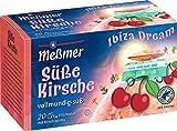 Meßmer Ibiza Dream, Süße Kirsche, 20 Teebeutel, Glutenfrei, Laktosefrei, Vegan, 50 g