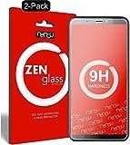 ZenGlass [2 Stück Flexible Glas-Folie kompatibel mit HTC Desire 12 Panzerfolie I Display-Schutzfolie 9H I (Kleiner Als Das Gewölbte Display)