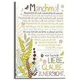 REINDERS Manchmal - Wandbild 60 x 90