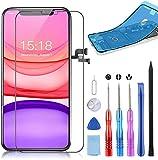 YPLANG OLED Display für iPhone X Bildschirm Schwarz Reparaturset 5.8 Zoll, 3D Touchscreen Digitalisierer mit Reparaturwerkzeug