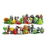 30 Teile/Satz Plants Vs Zombies Figuren Spielzeug PVZ Pflanzen Und Zombies PVC Action Figure Modell Spielzeug Puppe Kinder Kinder (OPP Tasche) 4-7C