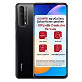 HUAWEI P smart 2021 Dual SIM Smartphone (16,94 cm - 6,67 Zoll, 128 GB interner Speicher, 4 GB RAM, Android 10 AOSP ohne Google Play Store, EMUI 10.1) midnight black + 5 EUR Amazon G