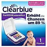 Clearblue Kinderwunsch Fertilitätsmonitor: Zykluscomputer für Eisprung mit Schwangerschaftsteststreifen, 1 Touchscreen-M