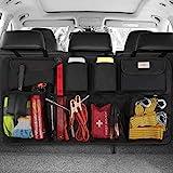 SURDOCA kofferraum organizer auto - 3rd Gen [doppelte Kapazität] organizer auto, ausgestattet mit [Starkes elastisches Netz & 4 Zauberstabstruktur],kofferraumtasche,autotasche k