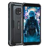 Blackview BV4900 (2021) Outdoor Smartphone ohne Vertrag (Android 10, 5.580mAh Akku, 3GB RAM+32GB ROM, NFC, Gesichtserkennung) 5,7 Zoll Display 4G Dual SIM Handy IP68 Wasserdicht Schw