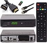 [ Test GUT *] Anadol HD 222 Pro + Satkabel + HDMI Kabel - PVR Aufnahmefunktion Timeshift, - UNICABLE - Digital HDTV Sat-Receiver für Satelliten - Astra & Hotbird installiert - HDMI SCART DVB-S/S2