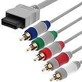 Fosmon HD AV Komponentenkabel Zu HDTV / EDTV (Hochauflösend 480p x 2000) Component Kabel Kompatibel Mit Wii und Wii U