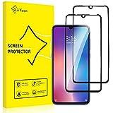 GiiYoon 2 Stück Panzerglas für Xiaomi Mi 9, HD Displayschutzfolie, Volle Abdeckung, 9H Härte, Anti-Kratzen, Anti-B
