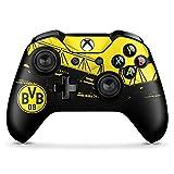 DeinDesign Skin kompatibel mit Microsoft Xbox One X Controller Folie Sticker Borussia Dortmund BVB Fanartik