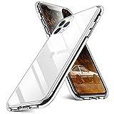 FACAI Transparent Hülle Kompatibel iPhone 11 Pro, 360 Grad Stoßfest TPU Weich Klar Handyhülle, Fallschutz, Anti-kratzt, rutschfest, Anti-Gelb, Anti-Fingerabdruck Silikon Slim Schutzhülle C