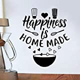 PMSMT 28 Arten Kaffee Wandaufkleber, Vinyl Wandtattoos, Küche Aufkleber, Zitat in Englisch, Zuhause, dekorative Aufkleber, PVC, Esszimmer Shop