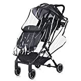 DREAMADE Kinderwagen mit Sonnenschirm und Regenschutz, Reisebuggy leicht und Klappbar, Kinderwagen mit liegefunktion Buggy, Sportwagen Kinderwagen Set, max. 15 kg belastbar (dunkelgrau)