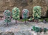 Original Jordan Bäume Obstbäume mit HO Füßen 10-12cm 8er Set 'Top' 6B /5