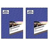 AVERY Zweckform 223-5 Fahrtenbuch A5, 80 Seiten insgesamt 858 Fahrten, für Deutschland und Österreich zur Abgrenzung privater/geschäftlicher Fahrten) Doppelpack (Standard Edition, 2 Stück)